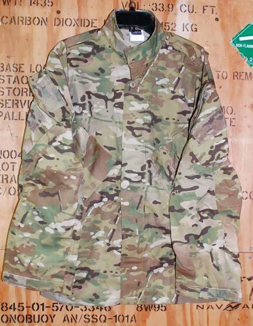 画像1: 米軍実物,Patagonia LEVEL 9 TEMPERATE BLOUSE M-R (1)