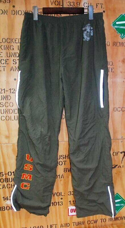 画像1: 米軍実物,USMC トレーニングウェアー パンツ  M-R (1)