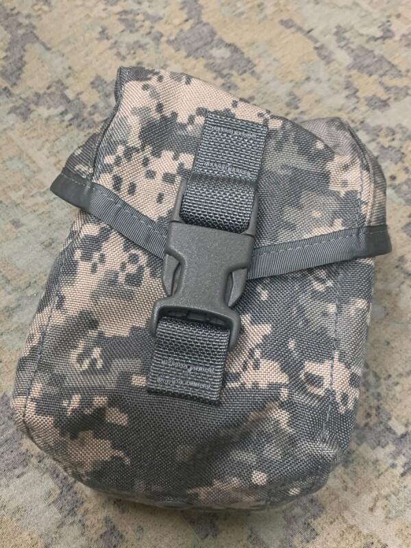 画像1: 米陸軍実物 100RD SAW・ユーティリティポーチ MOLLEII  (1)
