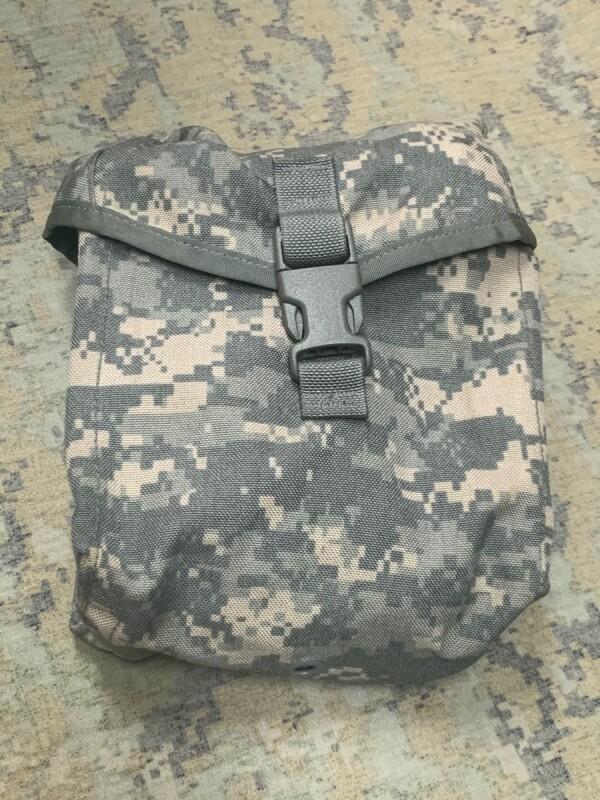 画像1: 米陸軍実物 200RD SAW・ガンナーポーチ MOLLEII  (1)