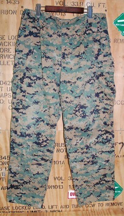 画像1: 米海兵隊実物 USMC ウッドマーパットパンツ L-SHORT (1)
