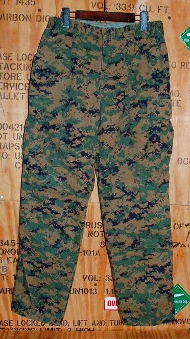 画像1: 海兵隊実物 USMC ウッドマーパットパンツ M-SHORT (1)