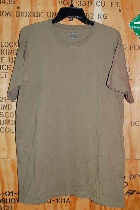 画像1: 米軍放出品,DUKE Tシャツ TAN LARGE (1)