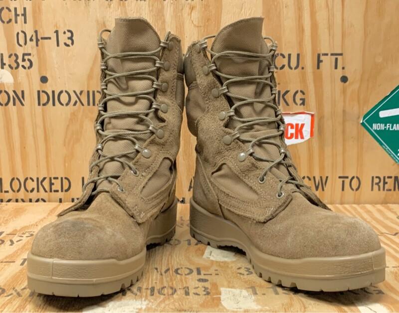 画像1: 米海兵隊実物 BATES デザートマーパット ゴアテックス ブーツ  10R (1)