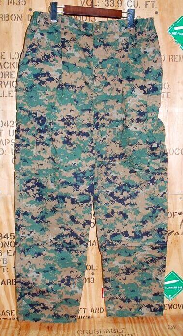 画像1: 海兵隊実物 USMC ウッドマーパットパンツ L-REGULAR (1)