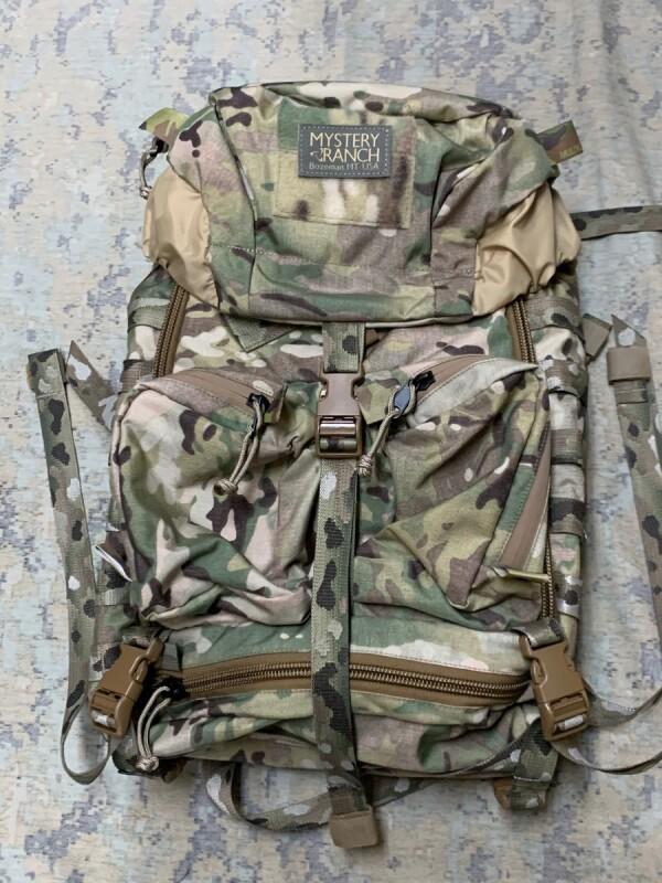 画像1: 米軍実物  MYSTERY RANCH MILITARY JUMP PACKS   メディックパック マルチカム (1)
