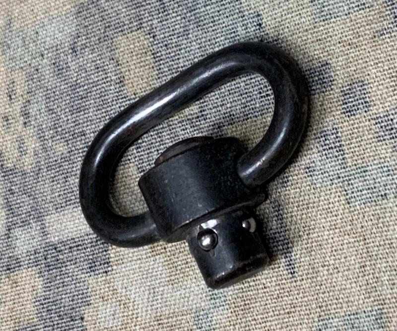 画像1: 米軍実物 QDスリング スイベル (1)