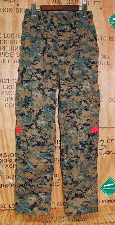 画像1: 米軍実物 衛生兵 ウッドマーパットパンツ S-R (1)