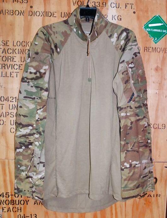 画像1: 米軍実物,マルチカム CRYE PRECISION  コンバットシャツ M-L (1)