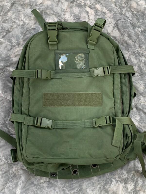 画像1: 米軍実物 LBT1562 B ロンドンブリッジ LONDON BRIDGE  Training Coverage Medical Backpack (1)