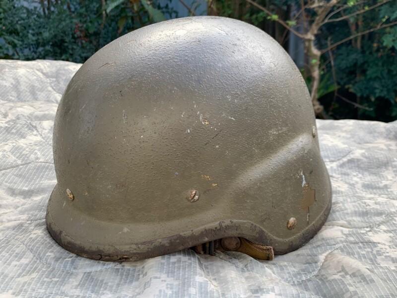 画像1: 米軍実物 フリッツヘルメット M  (1)