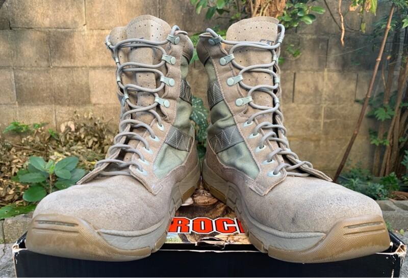 画像1: 米軍実物 ROCKY C4T TRAINERタクティカル ブーツ ABU 11.5W (1)