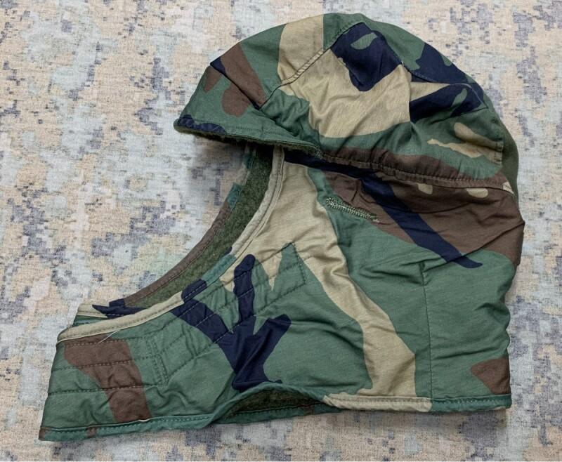 画像1: 米軍実物 CAP COLD WEATHER ヘルメットライナー 7 1/4 (1)