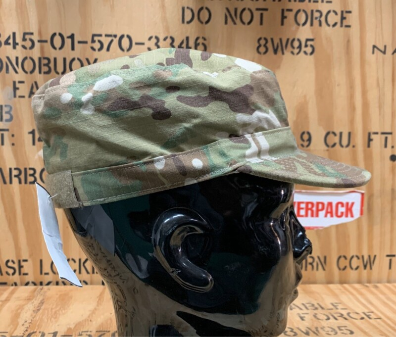 画像1: 米軍実物 マルチカム PATROL CAP  7 1/8 (1)