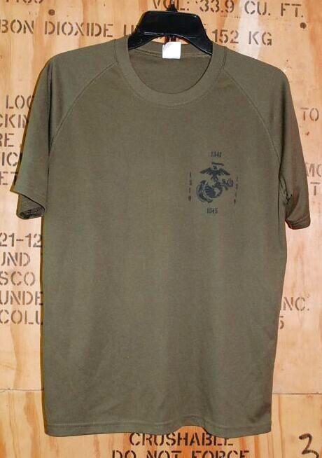 画像1: 米軍放出品 USMC DEFAULT AGGRESSIVE Tシャツ MEDIUN (1)