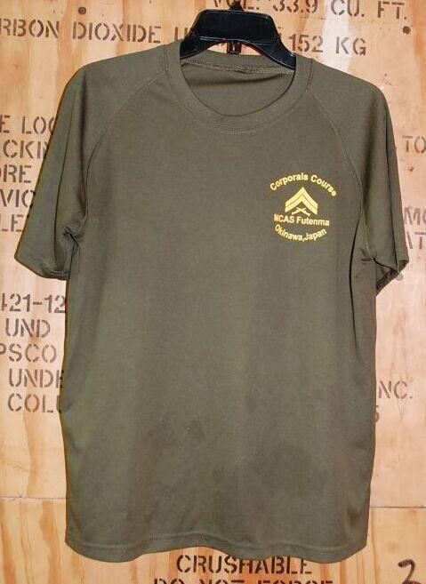 画像1: 米海兵隊実物 MCAS Futenma Okinawa Japan  USMC CORPORAL OF MARINES Tシャツ (1)