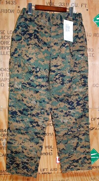 画像1: 海兵隊実物 USMC ウッドマーパットパンツ M-REGULAR (1)