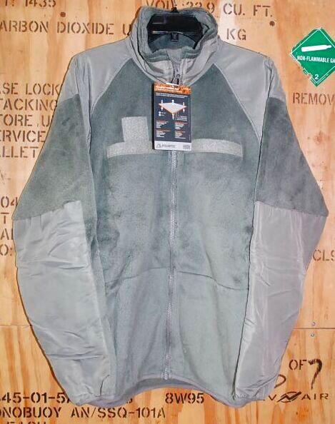 画像1: 米軍実物,JACKET,FLEECE COLD WEATHER(GENIII)  ポーラテックフリースジャケット L-R (1)