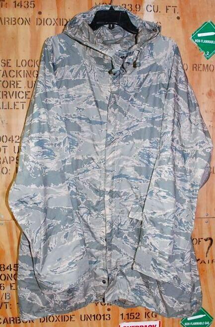 画像1: 米軍実物,ABU レインパーカー PARKA,IMPROVED RAINSUIT M (1)