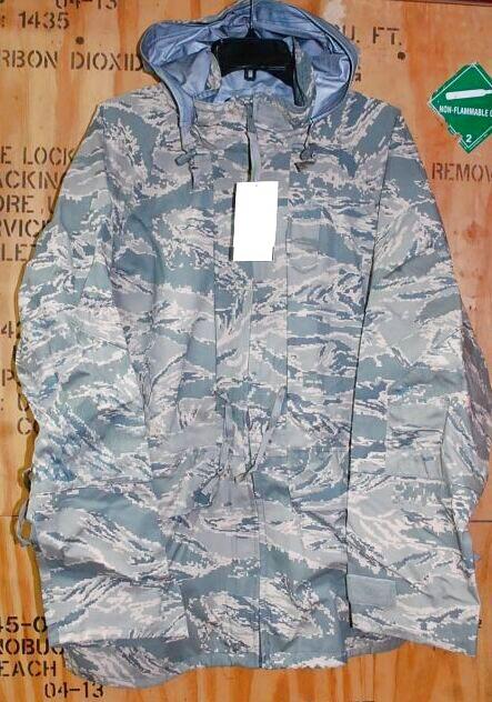 画像1: 米軍実物, USAF 米空軍 ABU GORE-TEX パーカー L-S (1)