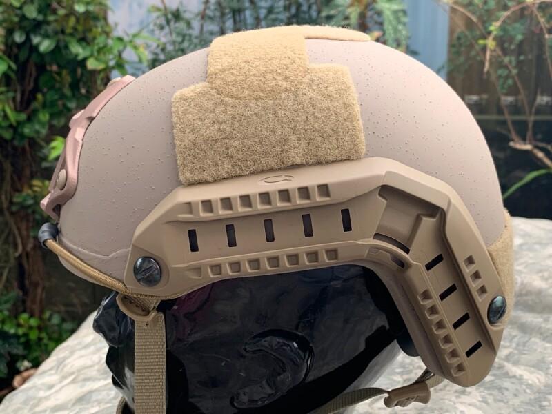 画像1: 米軍実物 OPS-CORE FAST MARITIME  マリタイム ハイカット バリスティック ヘルメット タンL/ XL (1)