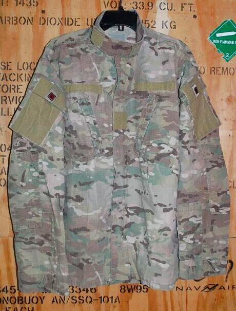画像1: 米軍実物,US ARMY マルチカムジャケット M-R (1)