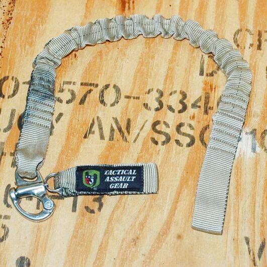 画像1: 米軍放出品 TAG パーソナル セーフティランヤード  (1)