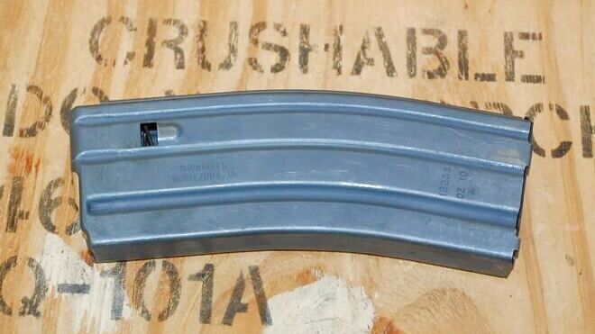 画像1: 米軍実物,M16/M4 30連 5,56MM マガジン BROWNELLS (1)