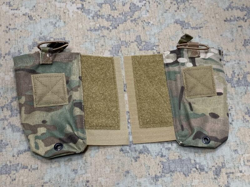 画像1: 米軍実物 CRYE PRECISION,   JPC MBITR ラジオ ポーチ 1ペア (1)