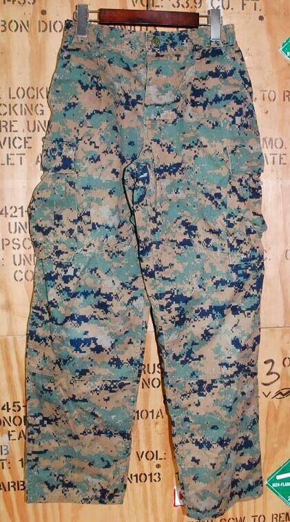画像1: 海兵隊実物 USMC ウッドマーパットパンツ S-SHORT (1)
