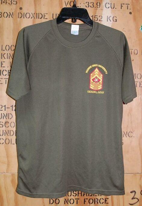 画像1: 米軍放出品 USMC Tシャツ MEDIUM OKINAWA JAPAN (1)