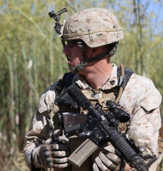 画像1: 米軍実物 ACH/MICH/LWH/PASGT    NVGマウントセット (1)