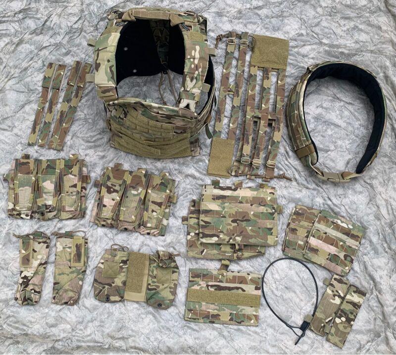画像1: 激レア 米軍実物 CRYE PRECISIONM   アダプティブベストシステム フルセット (1)