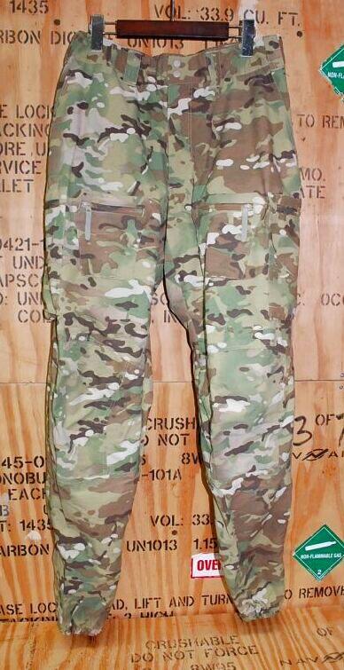 画像1: 米軍実物 Patagonia パタゴニア Level5  マルチカモ SOFT SHELL PANTS LARGE (1)