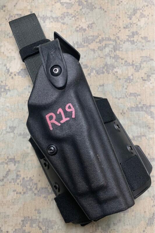 画像1: 米軍実物 サファリランド6004-73 レッグホルスター ベレッタ M92 M9 (1)