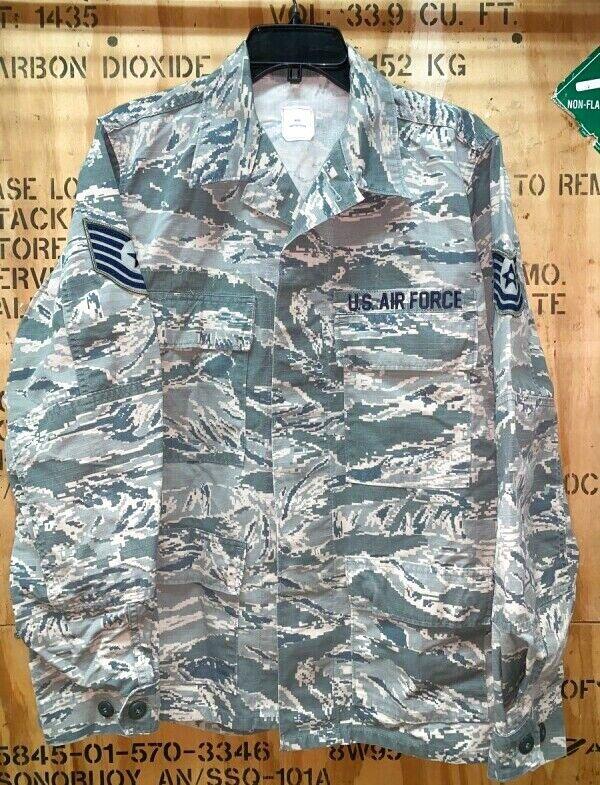 画像1: 米軍実物,USAF US AIR FORCE ABU ジャケット 40R (1)