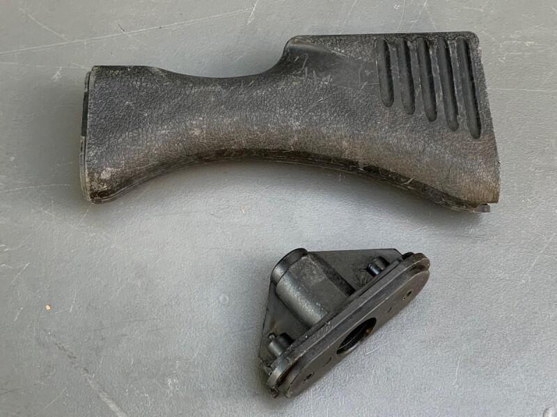 画像1: 米軍実物  M240 BUTT STOCK ボディー   (1)