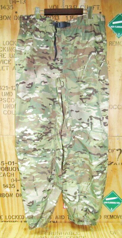 画像1: 米軍実物 patagonia TROUSERS LEVEL6 GORE-TEX マルチカム XL (1)