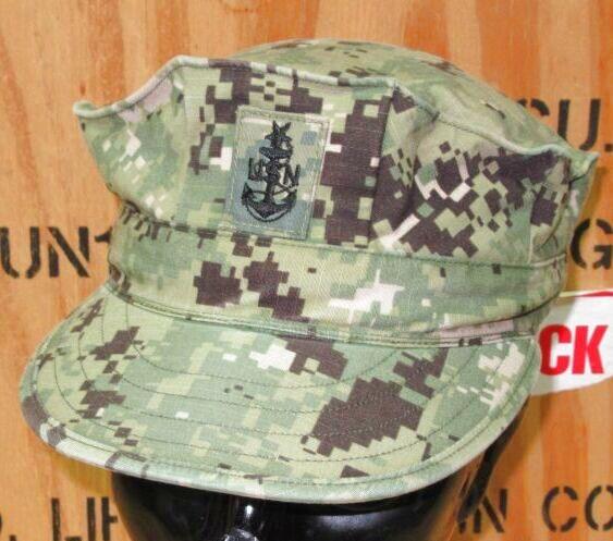 画像1: 米海軍実物 AOR2 US NAVY CAP 7 (1)