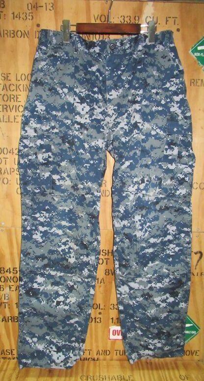 画像1: 米軍実物 US NAVY, 迷彩パンツ  L-REGULAR (1)