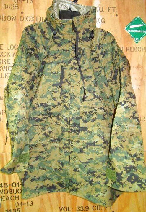 画像1: 米軍実物,USMC ウッドランドマーパット GORE-TEX パーカー M-L (1)