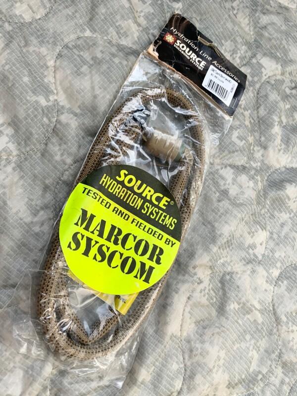 画像1: 米軍放出品 バイトバルブ ハイドロロック  チューブホース (1)