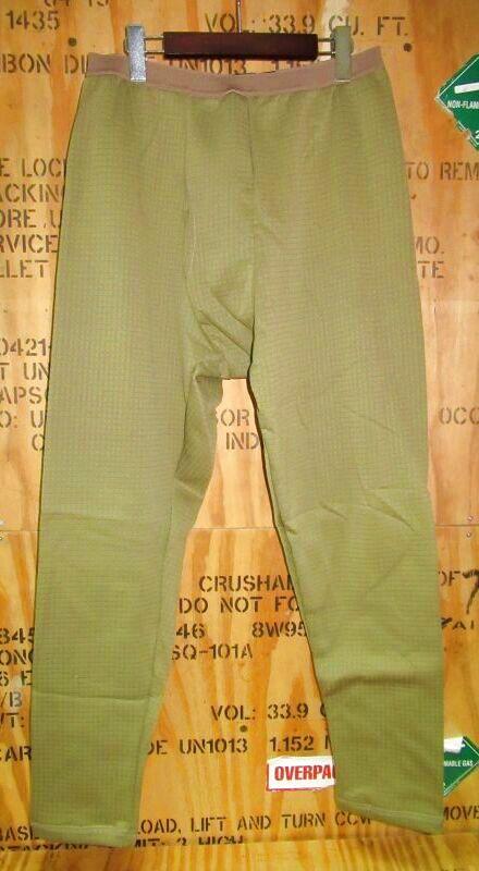 画像1: 米軍放出品 TRU-SPEC GEN III ECWCS LEVEL-2  MID-WEIGHT COLD WEATHER PANTS (1)