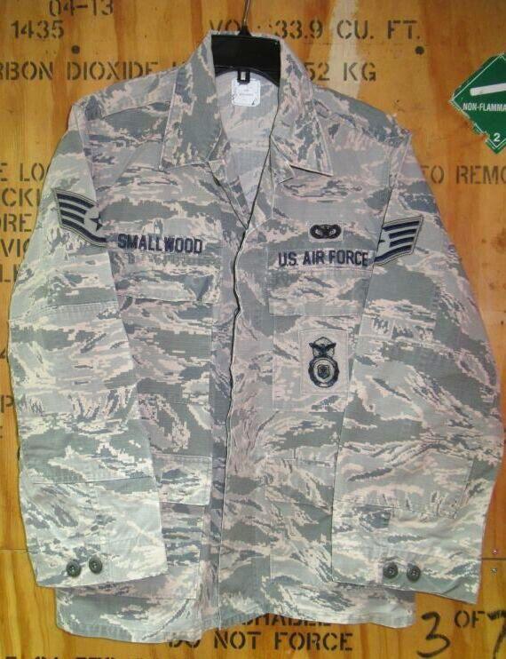 画像1: 米軍実物 USAF ABU ジャケット 40S (1)