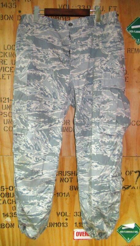 画像1: 米軍実物,USAF US AIR FORCE ABU カスタムパンツ 36 (1)