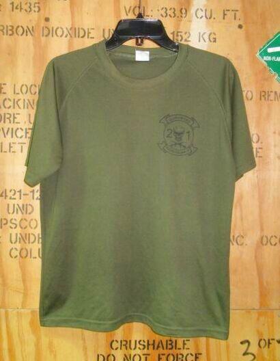 画像1: 米軍実物 US MARINE   Tシャツ MEDIUM (1)