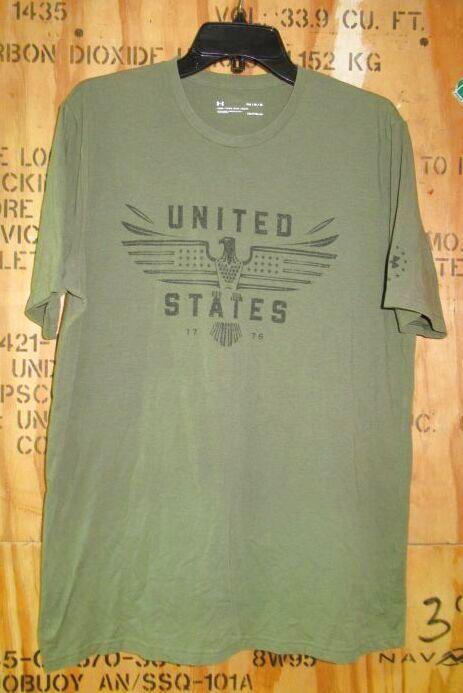 画像1: 米軍放出品 アンダーアーマーTシャツ  MEDIUM (1)