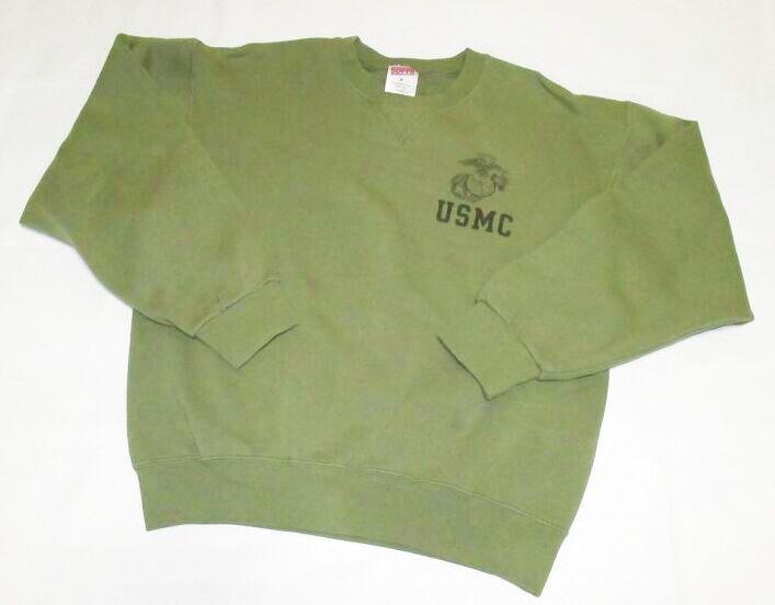 画像1: 米軍実物 USMC SOFFE スウェットトレーナー MEDIUM (1)